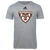 Adidas Sport Grey Logo T Shirt-Bonnies Shield