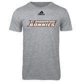 Adidas Sport Grey Logo T Shirt-St. Bonaventure Bonnies