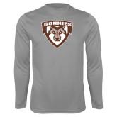 Performance Steel Longsleeve Shirt-Bonnies Shield
