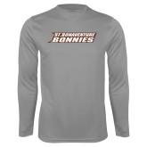 Performance Steel Longsleeve Shirt-St. Bonaventure Bonnies