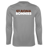 Performance Steel Longsleeve Shirt-St. Bona Bonnies