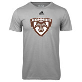Adidas Climalite Sport Grey Ultimate Performance Tee-Bonnies Shield