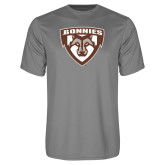 Performance Grey Concrete Tee-Bonnies Shield