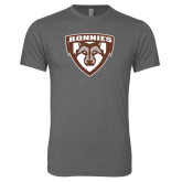 Next Level Premium Heather Tri Blend Crew-Bonnies Shield