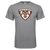 Grey T Shirt-Bonnies Shield