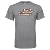 Grey T Shirt-Official Logo Distressed