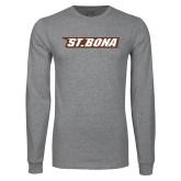 Grey Long Sleeve T Shirt-St. Bona