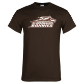 Brown T Shirt-Official Logo