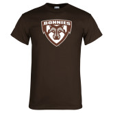 Brown T Shirt-Bonnies Shield