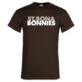 Brown T Shirt-St. Bona Bonnies