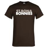Brown T Shirt-St. Bona Bonnies