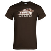 Brown T Shirt-Lacrosse