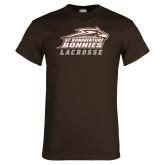 Brown T Shirt-Lacrosse