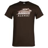 Brown T Shirt-Alumni