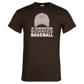 Brown T Shirt-Bonnies Baseball w/ Hat