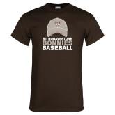 Brown T Shirt-Bonnies Baseball w/ Hat