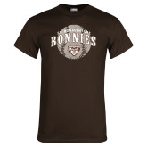 Brown T Shirt-Bonnies Baseball Arched w/ Ball