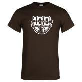 Brown T Shirt-SBU 100 Seasons