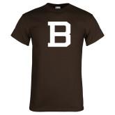 Brown T Shirt-Old Bona B