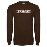 Brown Long Sleeve TShirt-St. Bona