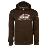 Under Armour Brown Performance Sweats Team Hoodie-Basketball