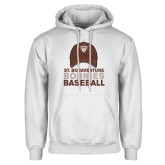 White Fleece Hoodie-Bonnies Baseball w/ Hat