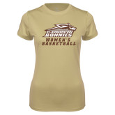 Ladies Syntrel Performance Vegas Gold Tee-Womens Basketball