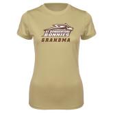 Ladies Syntrel Performance Vegas Gold Tee-Grandma