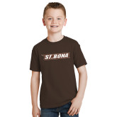 Youth Brown T Shirt-St. Bona