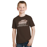 Youth Brown T Shirt-Womens Basketball