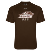 Under Armour Brown Tech Tee-Dad