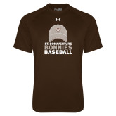 Under Armour Brown Tech Tee-Bonnies Baseball w/ Hat