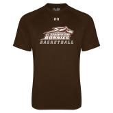 Under Armour Brown Tech Tee-Basketball