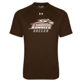 Under Armour Brown Tech Tee-Soccer