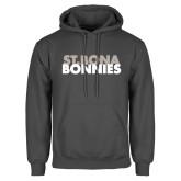 Charcoal Fleece Hoodie-St. Bona Bonnies