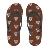 Full Color Flip Flops-Bonnies Shield