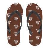 Full Color Flip Flops-Bonnies Shield