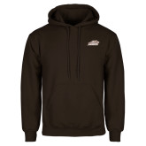 Brown Fleece Hoodie-Official Logo