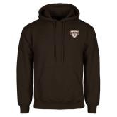 Brown Fleece Hoodie-Bonnies Shield