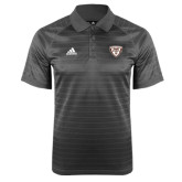 Adidas Climalite Charcoal Jaquard Select Polo-Bonnies Shield