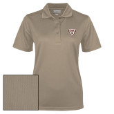 Ladies Vegas Gold Dry Mesh Polo-Bonnies Shield