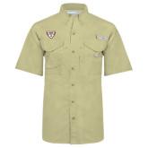 Columbia Bonehead Khaki Short Sleeve Shirt-Bonnies Shield