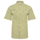 Columbia Bonehead Khaki Short Sleeve Shirt-St. Bona