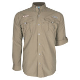 Columbia Bahama II Khaki Long Sleeve Shirt-St. Bona