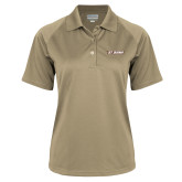 Ladies Vegas Gold Textured Saddle Shoulder Polo-St. Bona