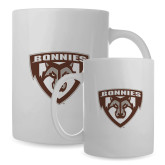 Full Color White Mug 15oz-Bonnies Shield