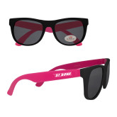 Black/Hot Pink Sunglasses-St. Bona