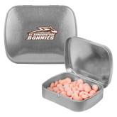 Silver Rectangular Peppermint Tin-Official Logo