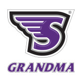 Small Decal-Grandma, 6 in. tall