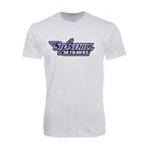 Next Level SoftStyle White T Shirt-Stonehill Skyhawks